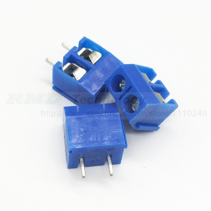 20PCS/lot 5 mm KF301 - 2P 3P MF 301 - 2 3 Pin Can be spliced Screw Terminal Block Connector 5.0mm Pitch u convex pouch color block spliced edging band boxer brief