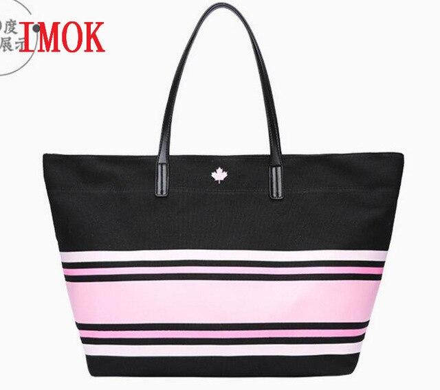 2018 new girl bag women v love pink girl bag Travel Business Handbags  Victoria beach shoulder bag large capacity bags 6ec9947ffc