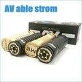 24mm AV poder strom M1P5 Ativista 65 mecânica mod pode caber RDA atomizador 18650 bateria e cigarro vaporizador AV poder strom mod