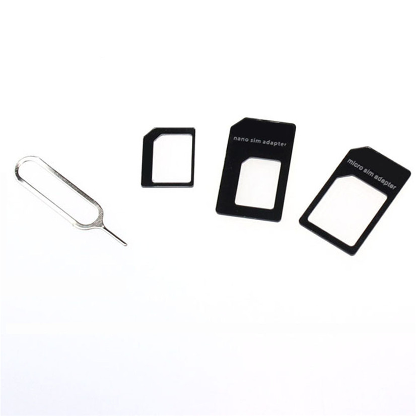 Hot Sale Convert Nano SIM Card to Micro Standard Adapter For iPhone 5 Drop Shipping Factory Price