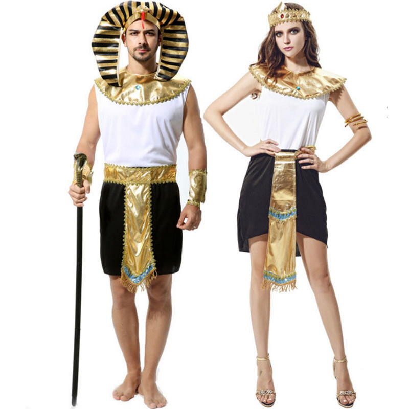 2018 new Adult couples clothing Egyptian Pharaoh Egypt queen cosplay costumes Arab Cleopatra Masquerade Party costume  sc 1 st  AliExpress.com & 2018 new Adult couples clothing Egyptian Pharaoh Egypt queen cosplay ...