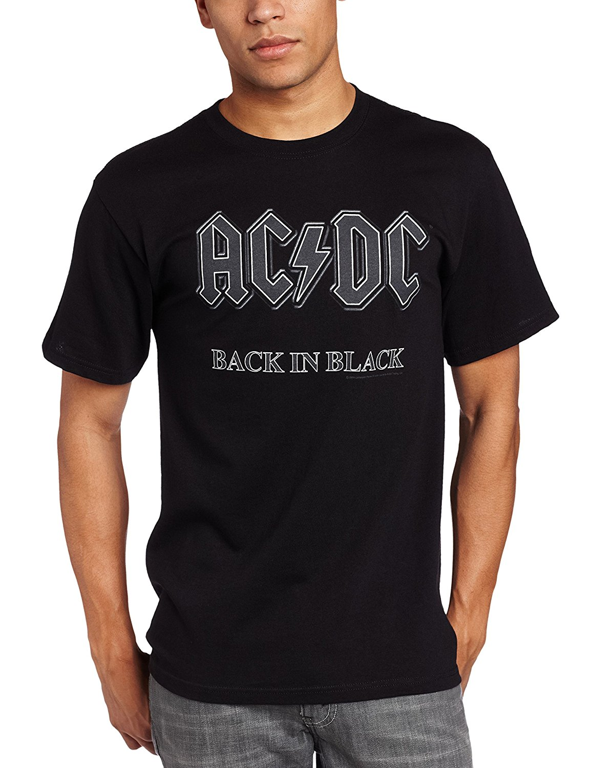 e37843afc Detail Feedback Questions about Impact Men's AC/DC Back In Black Short  Sleeve T Shirt