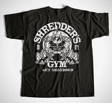 T-Shirt Shredders Gymer Schwarz Ninja,Foot Soldiers,Turtles S M L XL XXL XXXL Short Sleeve O-Neck Cotton T shirt все цены