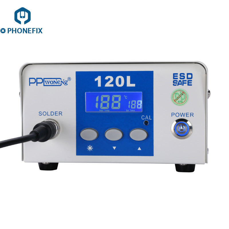 PPD120L Desoldering Rework Station with LCD Screen Display Unsolder A8 A9 A10 A11 CPU for iPhone Motherboard CPU Chip Repair