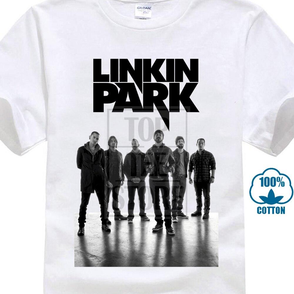 bc114ca3a70e E1Syndicate Linkin Park T Shirt Chester Bennington Slipknot Nu Metal A035C T  Shirt Novelty Cool Tops
