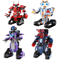 New DIY legoings Boost creative toolbox technic smart Robot RC Remote Control tracked power function Building Blocks Bricks Toys