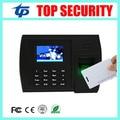 Biometric fingerprint + RFID card time attendance terminal linux operating system TCP/IP USB fingerprint time attendance clock