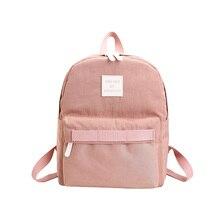 Простые повседневные Дизайн модные женские туфли рюкзак нейлон бренд мешок для девочек-подростков сумка школьная сумка рюкзак