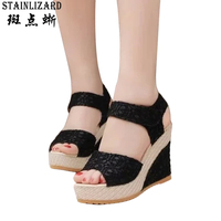 Bohemia Platform Sandals Women Casual Fashion Wedge Gladiator Sexy Female Sandals Boho Girls Summer Women Shoes