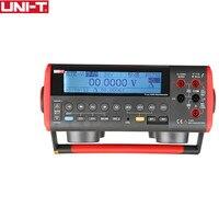 UNI T UT805A Туре RMS ЖК дисплей Bench Тип Цифровые мультиметры Вольт Ампер Ом Емкость Гц Тестер 199999 отсчетов высокой точности