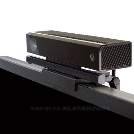სათამაშო აქსესუარები სენსორის კამერით TV Clip Mount Dock Holder Stand Bracket for Microsoft Xbox One Kinect 2.0
