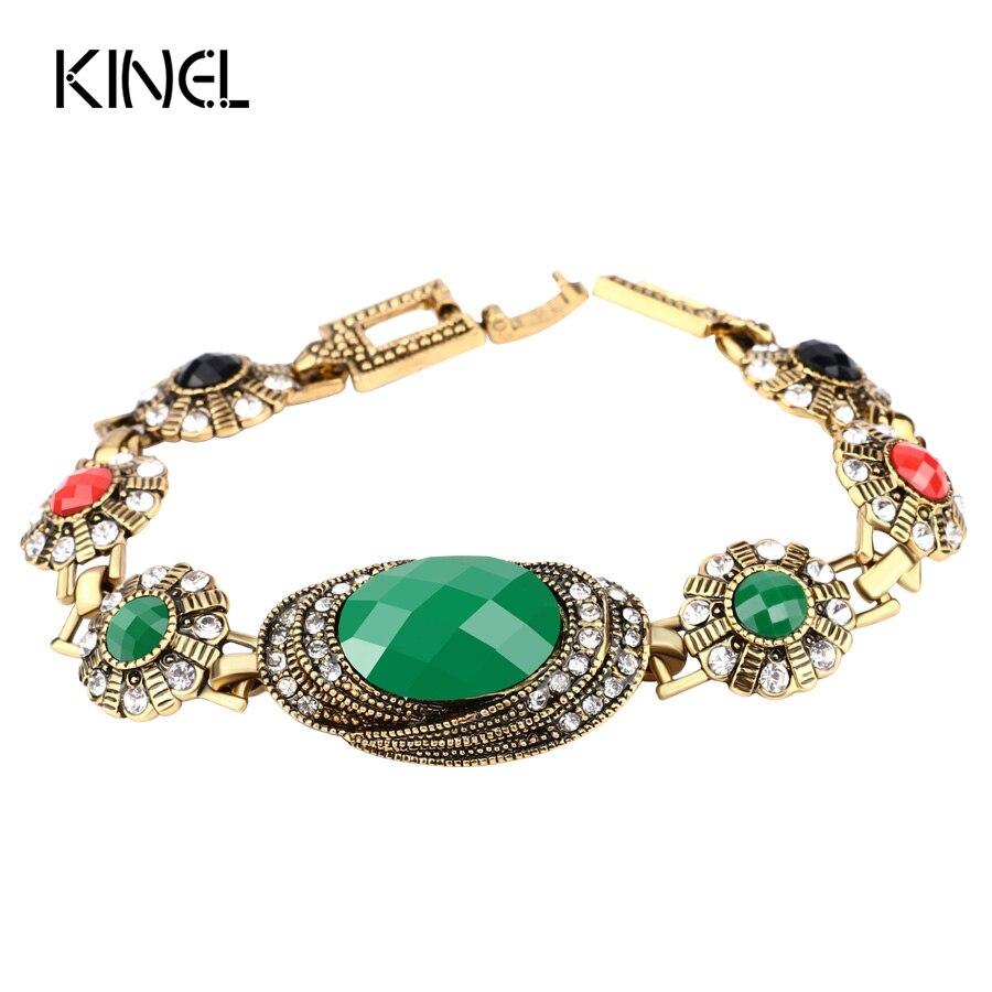 Color Gold Bracelet Indian...