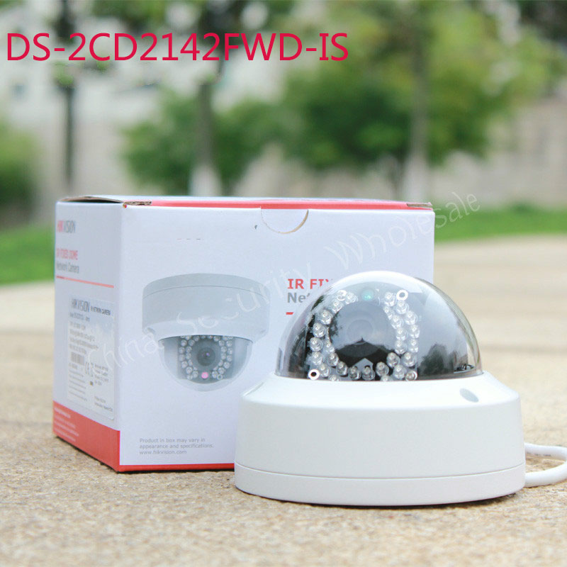 Free shipping In stock English Version IP Camera 4MP Mini Dome Camera POE IP CCTV Camera