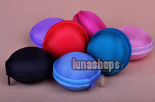 Many Colors Dia:8mm Pocket Bag Hard Case Storage MP3 for earbuds earphone