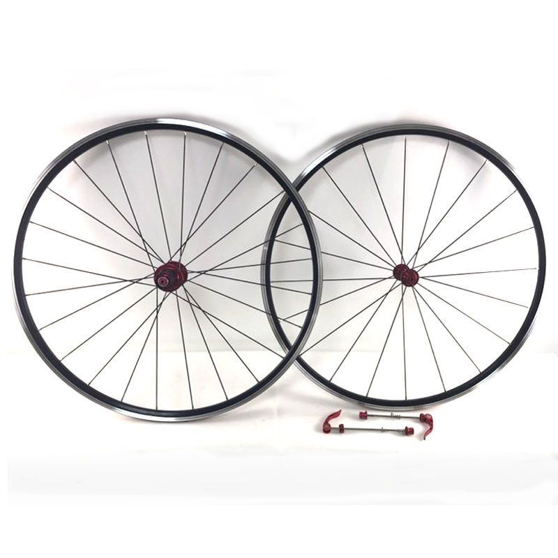 Ultra Light 700C Alloy Wheels 7/11speed Road Bicycle Bike Wheel V Brake Aluminium Wheelset Bicycle Wheels Rims 1600g 700cc wheels disc brake wheels road bicycle v c brake 30mm alloy rim 29inch cross country road bike silver frame light wheel