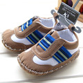2015 modelos de Invierno de deportes de los muchachos ocasionales zapatos resistencia al desgaste suela blanda antideslizante Niños botas zapatos de bebé mocasines para 0-18 M