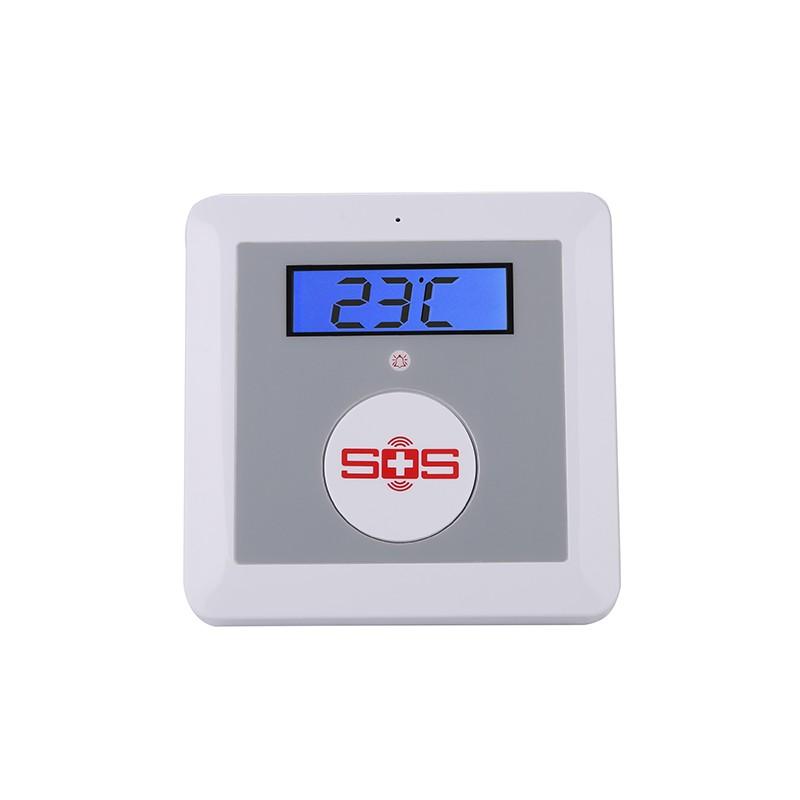K3 GSM Alarm panel SOS dialer temperature alarm system 1