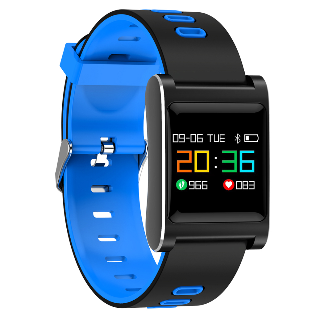 2018 New Arrival K88 Plus 3 Colors Smart Bracelet Color Screen Bluetooth Moving Blood Pressure Heart Rate Smart Watch J2