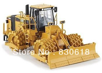 1/50 Norscot 55165 Caterpillar Cat 825H Soil Compactor Construction vehicles toy ndefo okigbo the mechanics of construction soil