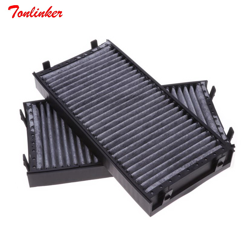 Image 2 - Car Cabin Air Filter Fit For BMW E70 X5 3.0si 4.8i E71 X6 xDrive35i 3.0 4.0 xDrive40i xDrive50i 4.4T Model 2008 2009 2014 Filter-in Cabin Filter from Automobiles & Motorcycles