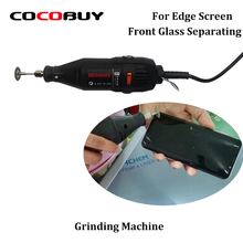 Novecel Mini Manual Grinding Machine for Creating Cracks Separating Glass LCD Screen Rotary Grinder Shorten Freezing Cool Time