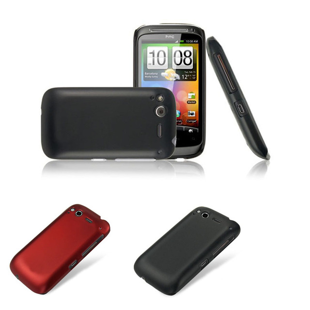 newest 6f4f0 0c5cd US $4.99 |Matte Rubberized Anti skid Style Case For HTC Desire S S510e G12  Ultra thin Hard Back Protective Case Cover-in Half-wrapped Cases from ...