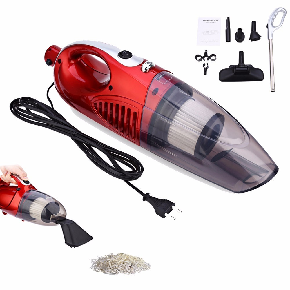 JK - 2 Car Electric Multi-functional Vacuum Cleaner 12 V Motor Brushes Household Dust Collector Dry Wet Two Type Cleaner
