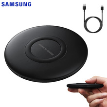 Original Fast Charging QI Wireless Charger EP-P1100 For Samsung Galaxy Note 9 Note 8 S10e Iphone 8 Xiaomi 9 S8 Plus S9 S10+ A9 все цены