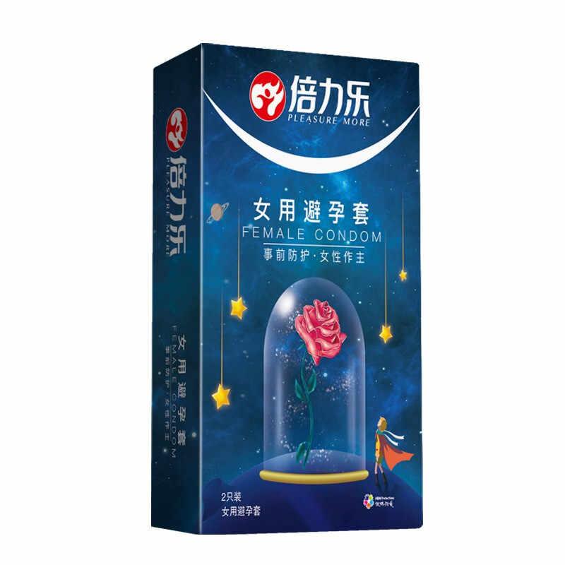4 ピース/ロット女性女性の大人の潤滑コンドーム敏感オーガズムラテックス刺激コックスリーブ大人のおもちゃ親密な製品