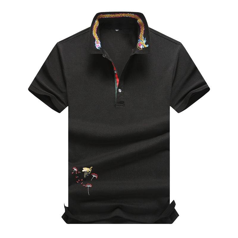 2019   Polos   Shirt Men Brand   Polo   Fashion Shirts 100% Cotton Short Sleeve Hommes Embroidery Short Sleeve shirt for men Camisas Top