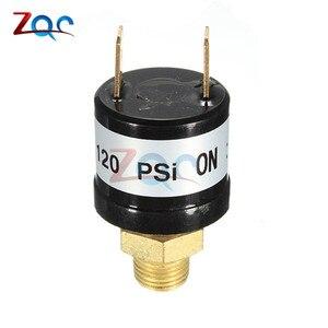 Image 3 - Выключатель давления, регулирующий клапан воздушного компрессора, сверхмощный, 90 PSI  120 PSI