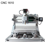 GRBL control CNC 1610 + 500mw laser Diy CNC machine,working area 16x10x4.5cm,3 Axis Pcb Milling machine,Wood Router
