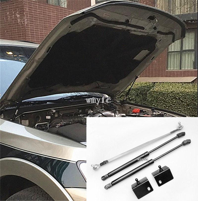 Front Hood Engine Supporting Hydraulic rod Lift Strut Spring Shock Bars Bracket For 2006-2019 Mitsubishi Pajero Car accessories