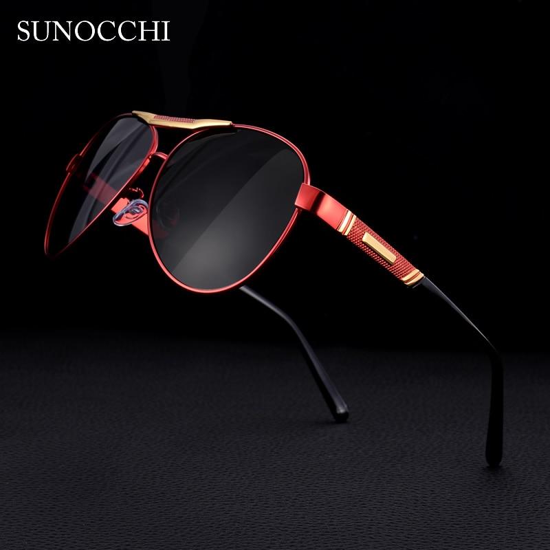 2019 Brand Classic Designer Pilot Sunglasses Polarized Men Fashion Aviation Driving Sun glasses Male For Mens UV Protection