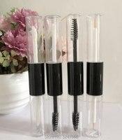 10ML 20pcs 50pcs Slim Empty Plastic Lip Gloss Tube DIY Clear Double Edge Eyeliner Package Women