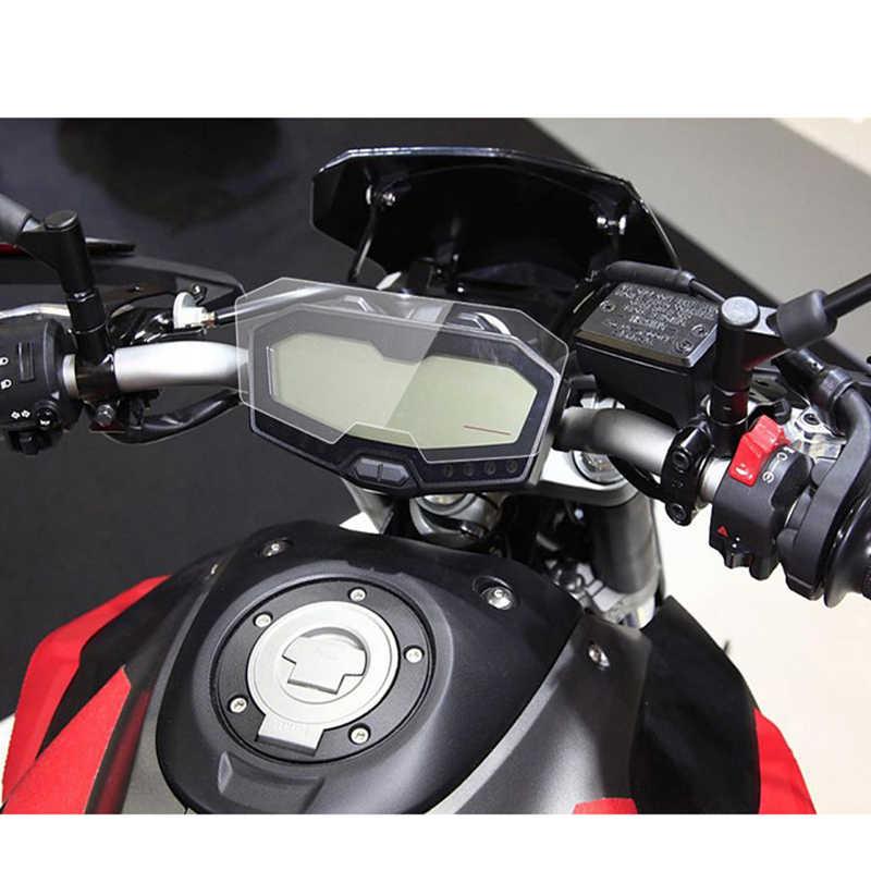 MT-07 fz 07 moto blu-ray cluster proteção contra riscos filme velocímetro capa guarda para yamaha 2014 15 16 17 MT-07 FZ-07