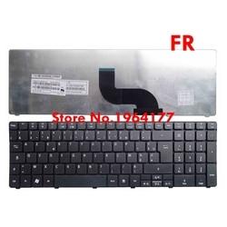 Французская клавиатура для Acer Aspire 5542G 5350 5253 5333 5340 5349 5360 5733 5750 5736 5736G 5739 7551 7551g 7739 FR AZERTY