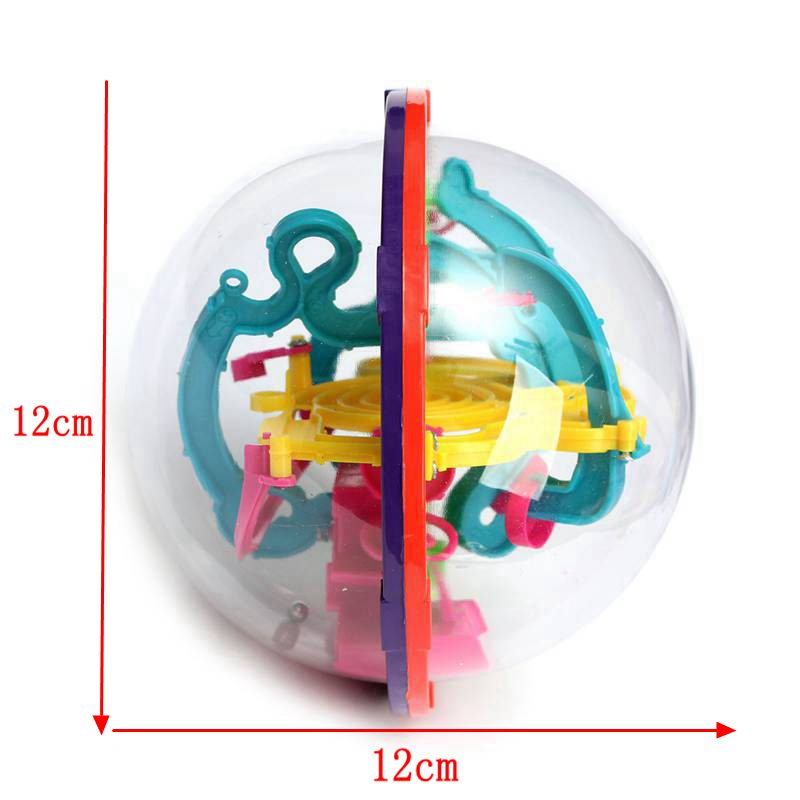 100 ~ 299 nivåer labyrint pusselboll 3d labyrint intellekt barn - Spel och pussel - Foto 6