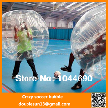 TOP QUALITY. RB-01 0.8mm PVC 1.5 m Dia Bumper Body Ball,Inflatable Body Ball,Body Zorb Ball for adults