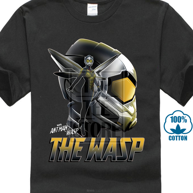 151fdd05 Normal Star War T Shirt Wasp Profile Tee Men Father Day T-Shirt Black Tshirt  Cotton Top Warrior Short Sleeve Clothing Custom