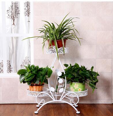 achetez en gros supports pour plantes en fer forg en ligne des grossistes supports pour. Black Bedroom Furniture Sets. Home Design Ideas
