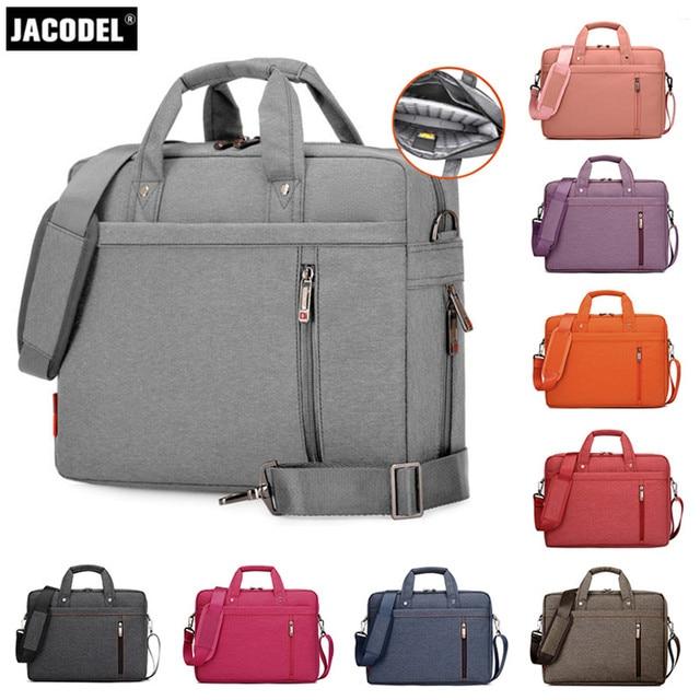 Jacodel Business Laptop Handbags Bag Woman Briefcase For 17 Inch Cover Funda Portatil