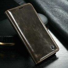Caseme Роскошный кожаный бумажник карты Стенд чехол для Samsung A310 A510 Магнит Флип Держатель кожаный чехол для Samsung A3 A5 A7 (2015)
