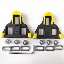 Plastic Road Mountain Bike Cycling cleats Self-locking cycling shoes Lock Cleats Set Pedal Accessories SPD Bicycle Cleat