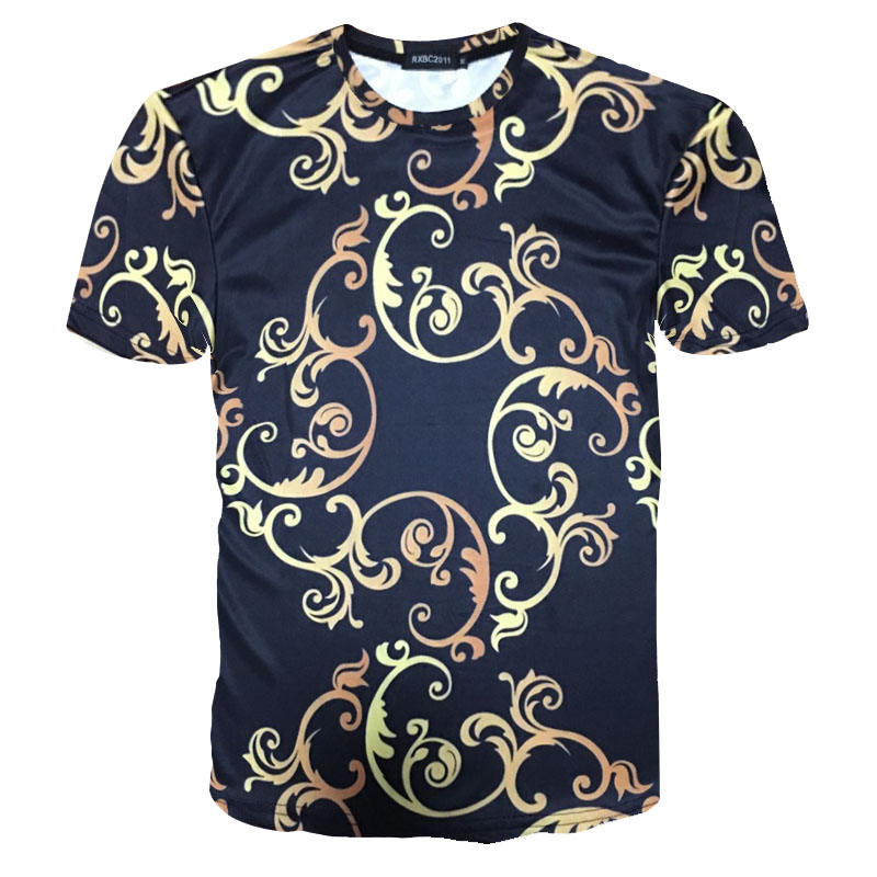 Men T Shirt Medusa T-shirt 2018 Summer New Tops & Tees 3D Print Men's Brand Clothing casual short sleeves free shipping