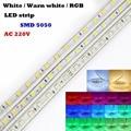 AC 220V 60leds/m IP67 Waterproof led light strip SMD5050 1 Meter flexible led strip light Christmas Party Led flexible Tape