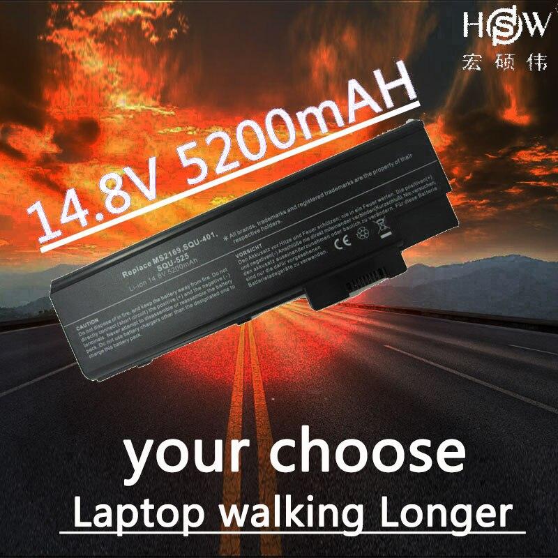 HSW Laptop Battery for ACER Aspire 1410 1640 1640Z 1650 1680 1690 batteries 3000 3500 battery laptop 5000 5510