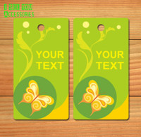 170 Customized Children's Garment tags paper 1000 pcs/lot Free drill hole