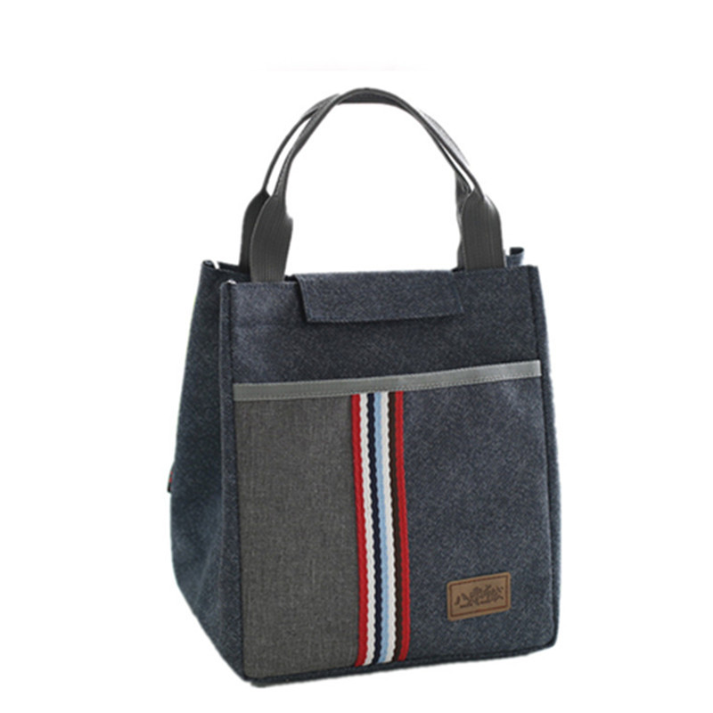 Thermal Insulated Lunch Bag Tote For Women Kid's Portable School Cooler Thermo Bag Leisure Accessories Supplies Products Stuff