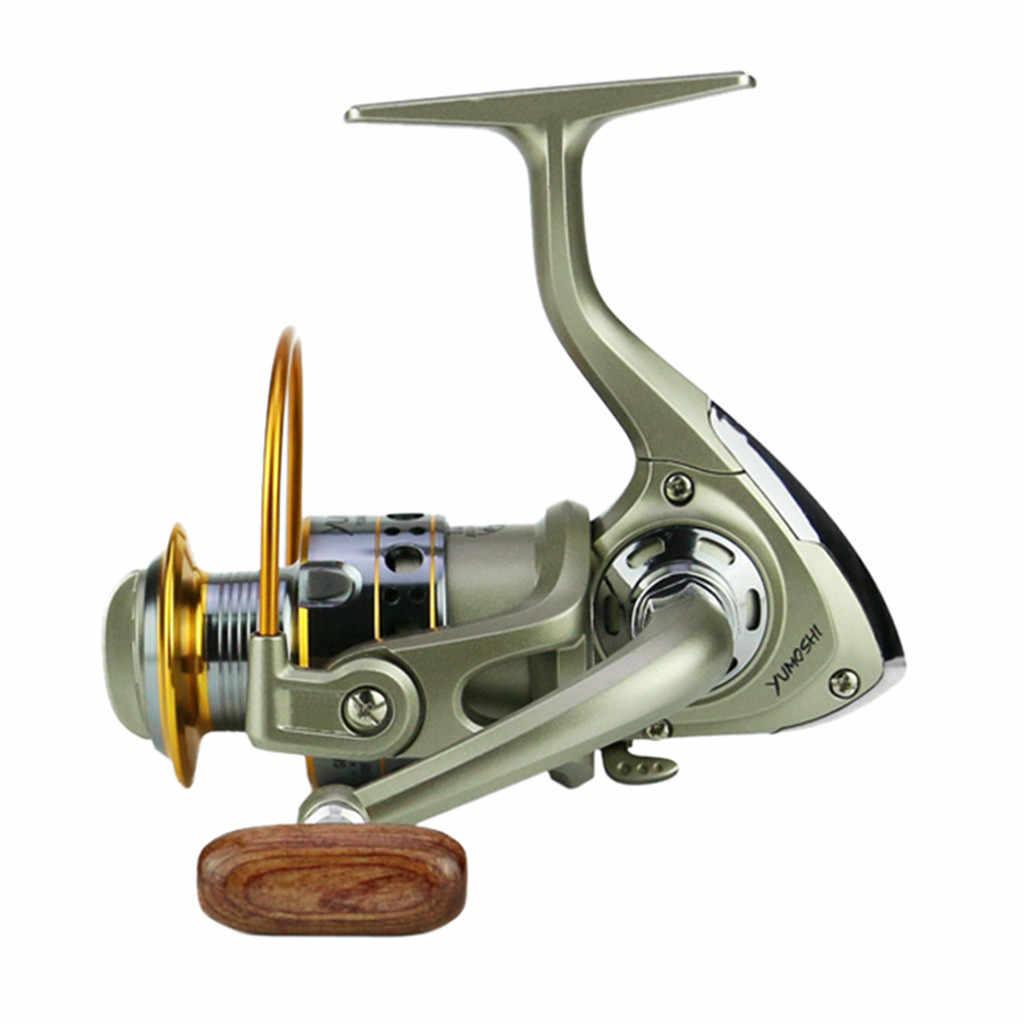 الصيد عجلة عجلات الأسماك الغزل بكرة 5.5: 1Carretilhas Pescaria Molinete LC1000-7000series Vissen فيل رويدا دي pesca